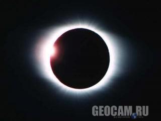 Веб-камера Exploratorium: солнечное затмение 2008