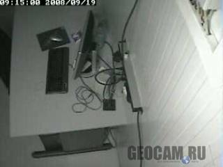 Веб-камера в лазерном детекторе