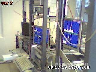 Веб-камера в лаборатории твердого тела