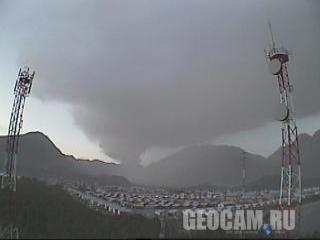 Chaiten volcano webcam