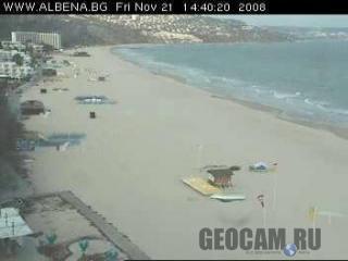 Веб-камера на пляже в Албене