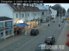 Borgholm Harbor webcam (Sweden)