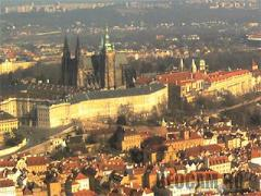 Prague Castle HD webcam (Czech Republic)