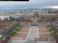 Веб-камера города Брест (Франция)