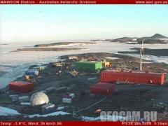 Mawson station webcam (Antarctic, )