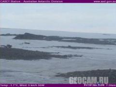 Casey station webcam (Antarctic, )