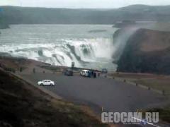 Веб-камера водопада Гюдльфосс