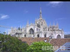 Duomo webcam, Милан (Италия)