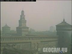 Castello webcam, Milan (Italy)