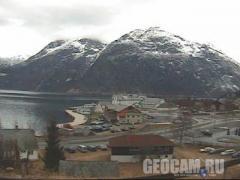 Веб-камера в городе Эйдфьорд, Норвегия (Норвегия)