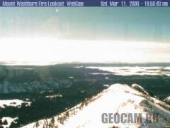 Mt. Washburn Fire Lookout WebCam