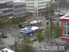 Веб-камера в городе Тромсо, Норвегия