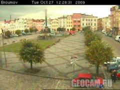 Broumov webcam