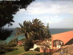 Romantik Hotel Vivenda Miranda webcam: Sunset view