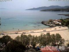 Веб-камера на пляже Kalogria, Греция (Греция)