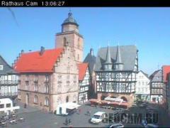 Веб-камера в городе Альсфельд, Германия.