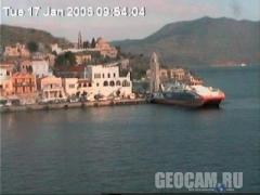 Yialos webcam, Symi Harbour, Greece (Germany)