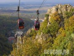 Harz mountains funicular webcam
