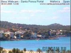 Mallorca webcam, Spain