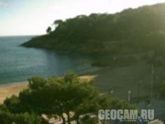 Hotel Tamariu beach webcam