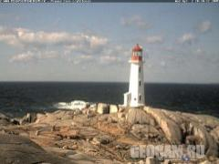 Peggys Cove Lighthouse Webcam (Canada)
