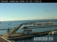Borgholm Harbour webcam