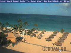 Веб-камера на пляже Тара (Аруба)