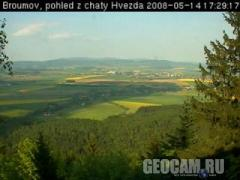 Broumov webcam (Czech Republic)