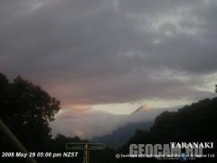 Taranaki webcam (New Zealand)