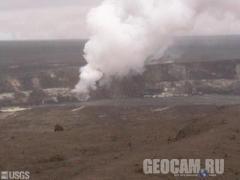 Веб-камера кратера Halema`uma`u вулкана Килауэа (Соединённые Штаты Америки)