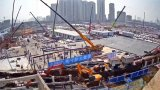 Live online broadcast of the construction of two hospitals in Wuhan, China