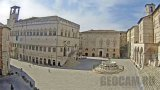 Webcam on the square of November 4, Perugia, Italy (Perugia, Italy)