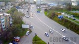 Webcam at the exit from Admiral Yumashev Street in Vladivostok