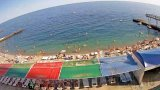 Sanatorium «Ai-Petri» beach webcam, Crimea (Koreiz, Russia)