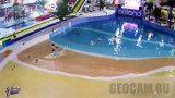 Ailand family holiday center webcam: swimming pool (Astana, Kazakhstan)