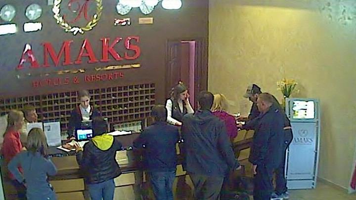 Стойка регистрации «АМАКС Отель Омск»
