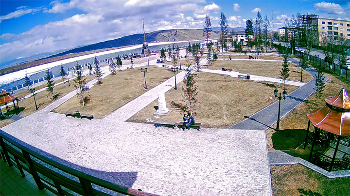 Веб-камера в сквере «Центр Азии»