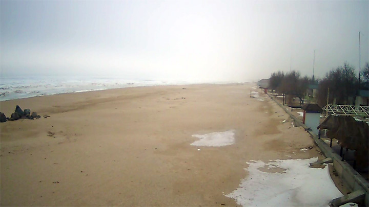 Live webcam overlooking the Sea of Azov