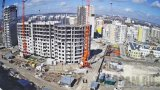 Webcam of the construction of the residential complex «Gorod Mira», Simferopol (Simferopol, Russia)