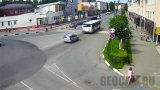 Webcam in Borodinsky Passage, Klin, Russia