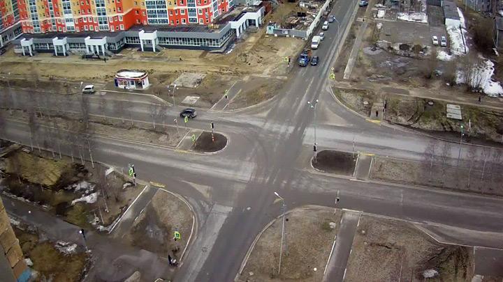Веб-камера на перекрёстке Чапаева - Таёжная