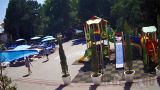 Webcam at the children's playground of the hotel «Demerdzhi», Alushta, Crimea (Alushta, Russia)