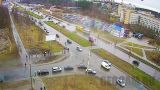 Webcam at the crossroads Drevlyanka - Forest (Petrozavodsk, Russia)