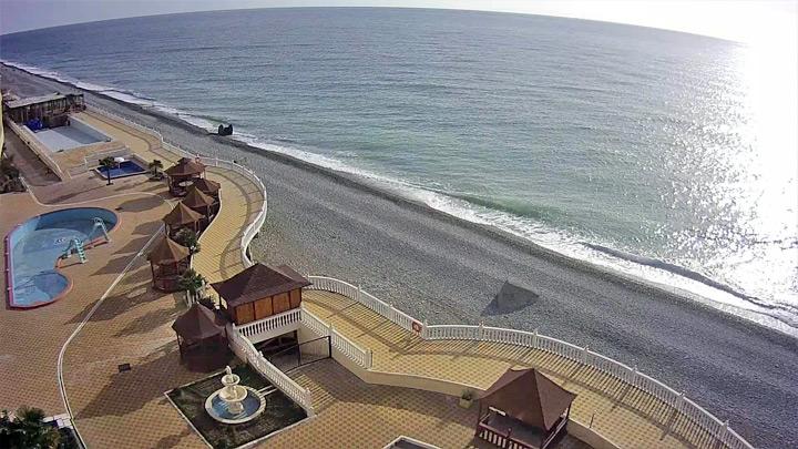 Веб-камера пляжа Лоо - восток