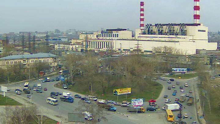 Webcam on Energetikov Square