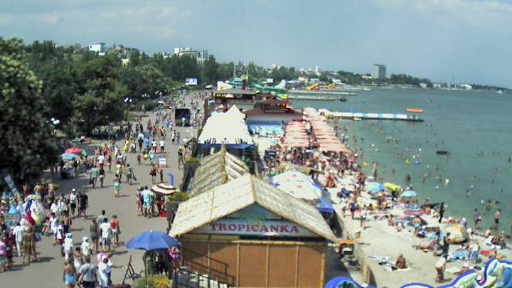 Feodosia seafront webcam