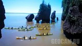 Hopewell Rocks Webcam, Canada (New Brunswick, Canada)