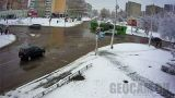 Webcam at the intersection of Gagarin and Maxim Gorky streets in Borisov