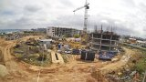 «Garden» apart-complex construction webcam in Sevastopol