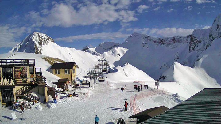 Веб-камера «Горки Город», высота 2200 м – «Панорамная»